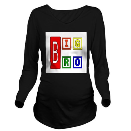 bigbro2.JPG Long Sleeve Maternity T-Shirt
