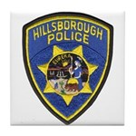 Hillsborough Police Tile Coaster