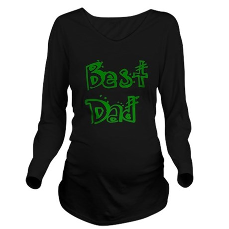 best2d.png Long Sleeve Maternity T-Shirt