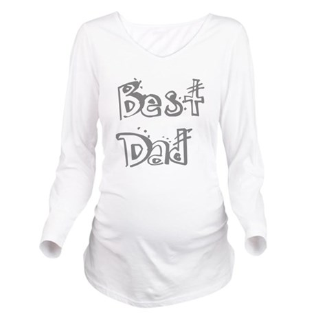 best2f.png Long Sleeve Maternity T-Shirt