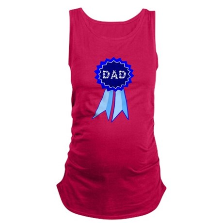 dadribbon.png Maternity Tank Top