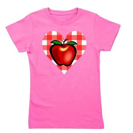 applechecks2.png Girl's Tee