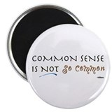 Common Sense Magnet