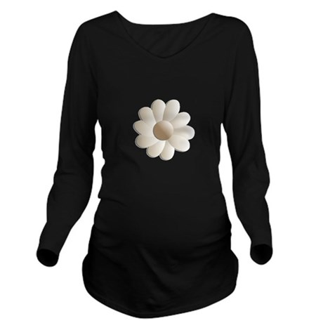 daisy5.png Long Sleeve Maternity T-Shirt