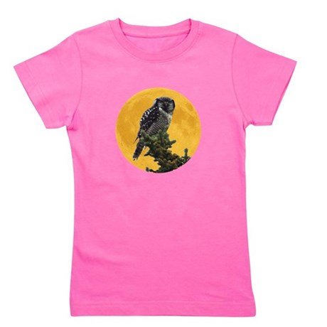 owlmoon.png Girl's Tee
