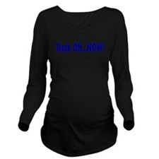 backoff.png Long Sleeve Maternity T-Shirt