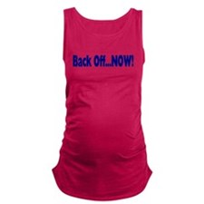 backoff.png Maternity Tank Top
