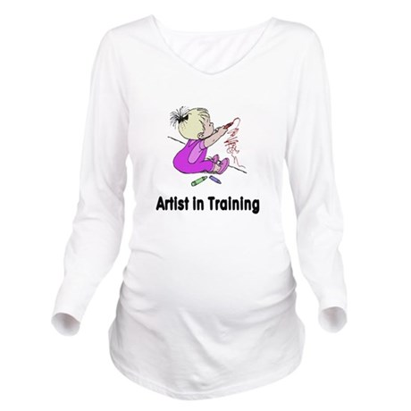 artist2.png Long Sleeve Maternity T-Shirt