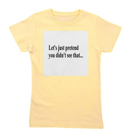 Lets Pretend Girl's Tee