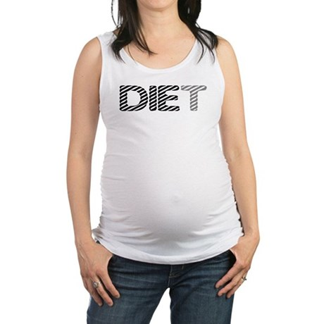 diet5.png Maternity Tank Top