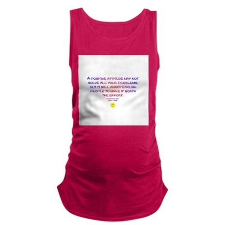 Positively Annoying Maternity Tank Top