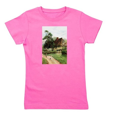 cottage1.png Girl's Tee