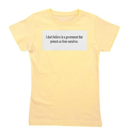 Government Protection Girl's Tee