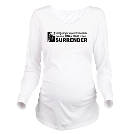 gun4b.png Long Sleeve Maternity T-Shirt