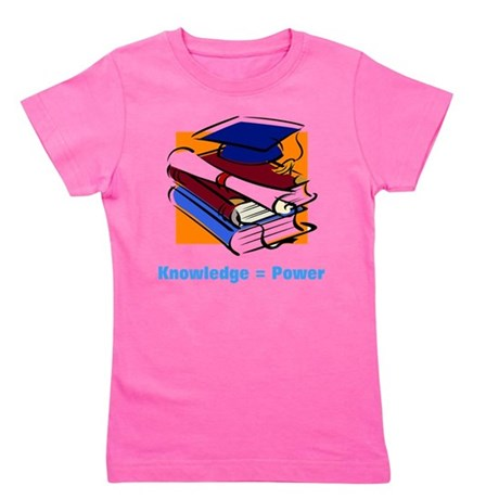 knowledge.png Girl's Tee