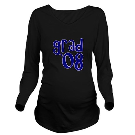 08h.png Long Sleeve Maternity T-Shirt