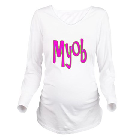 myob1c.png Long Sleeve Maternity T-Shirt
