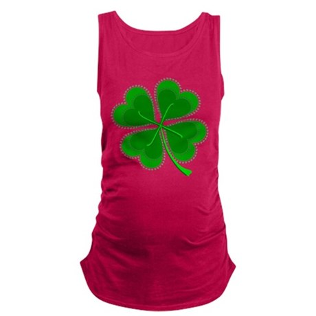 shamrock4a6.png Maternity Tank Top