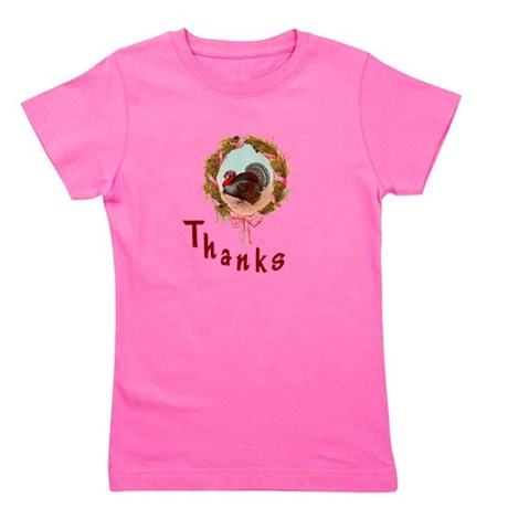 turkey1a.png Girl's Tee