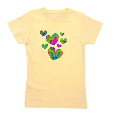 hearts5.png Girl's Tee