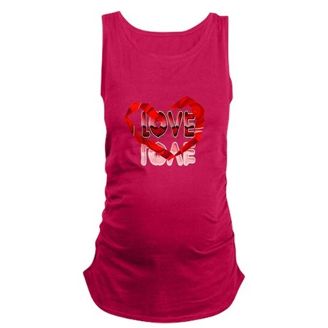 heart7e.png Maternity Tank Top