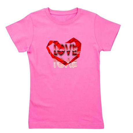 heart7e.png Girl's Tee