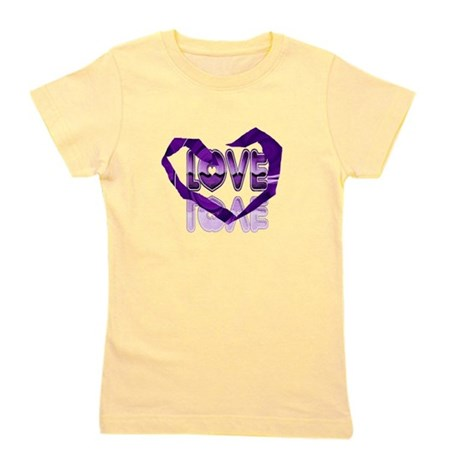 heart7c.png Girl's Tee