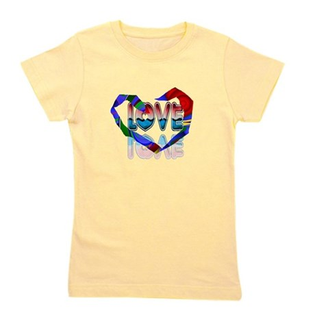 heart7b.png Girl's Tee