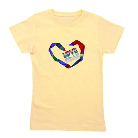 heart7a.png Girl's Tee