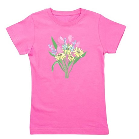 bouquet Girl's Tee