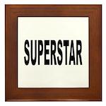 Superstar Framed Tile