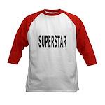 Superstar (Front) Kids Baseball Jersey