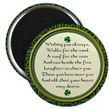 "Irish Blessing 2.25"" Magnet (10 pack)"