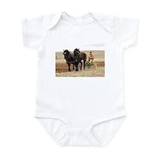 Funny Clydesdale Infant Bodysuit