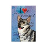 Swedish Vallhund Rectangle Magnet