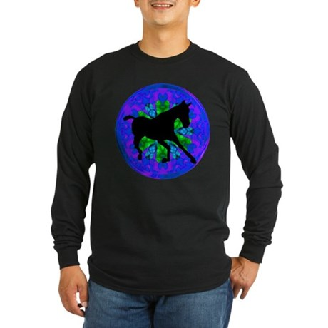 Kaleidoscope Colt Long Sleeve Dark T-Shirt