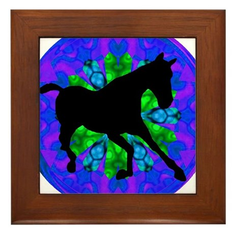 Kaleidoscope Colt Framed Tile