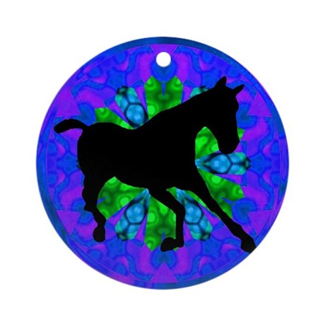 Kaleidoscope Colt Ornament (Round)