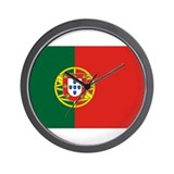 Flag of Portugal Wall Clock