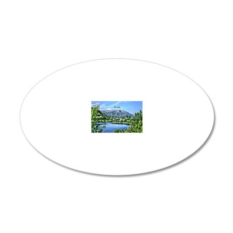 Beautiful Norway 20x12 Oval Wall Decal