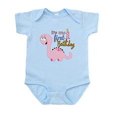 Its my First Birthday Dinosaur Infant Bodysuit