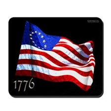 1776 Revolutionary Flag 003 Mousepad