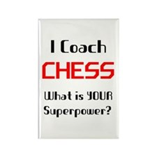 i coach chess Rectangle Magnet