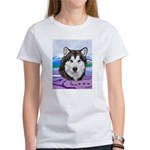Malamute and sled team Women's T-Shirt