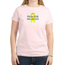 Pray for Brandon Women's Pink T-Shirt