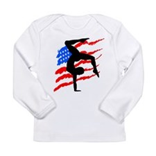 USA GYMNAST Long Sleeve Infant T-Shirt