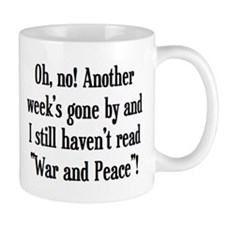 read war and peace Mug