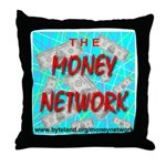 The Money Network Throw Pillow