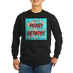 The Money Network Long Sleeve Dark T-Shirt
