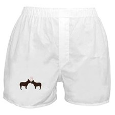 Frenchies in Love Boxer Shorts